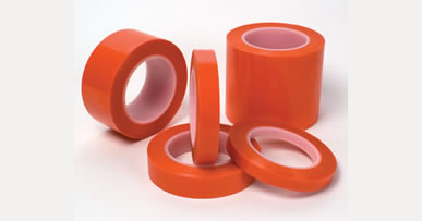 "1"" X 72 YDS 2MIL ORANGE POLY TAPE - 430F"